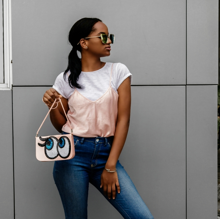 HOW TO WEAR a 200 NGN WHITE SHIRT| LOOK 1