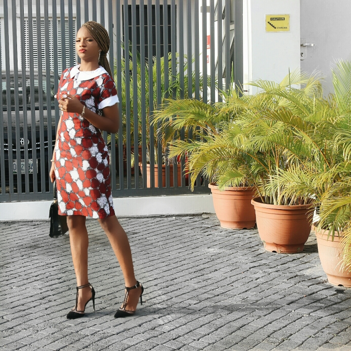 Thekatiewangcompany ankara midi dress, Thisthingcalledfashionn