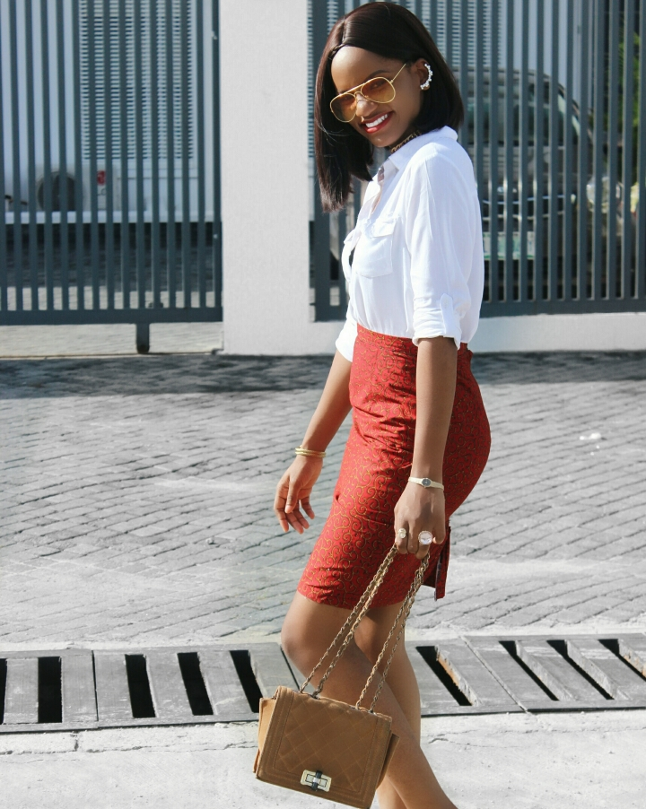 how to style an ankara skirt, Thisthingcalledfashionn