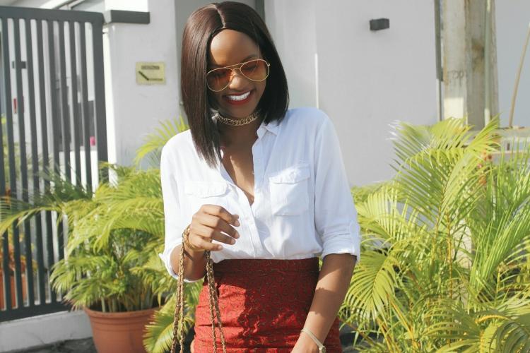 how to style an ankara skirt, Thisthingcalledfashionn