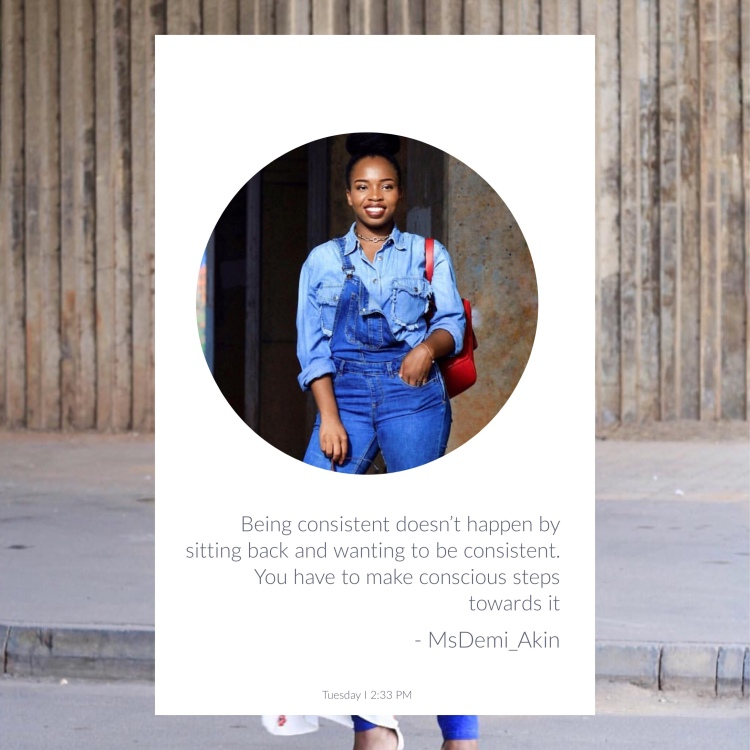 How to stay consistent in Blogging, thisthingcalledfashion