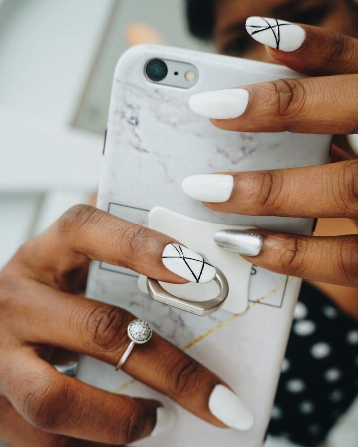 MEET Sarah James: The nail artist changing the game.