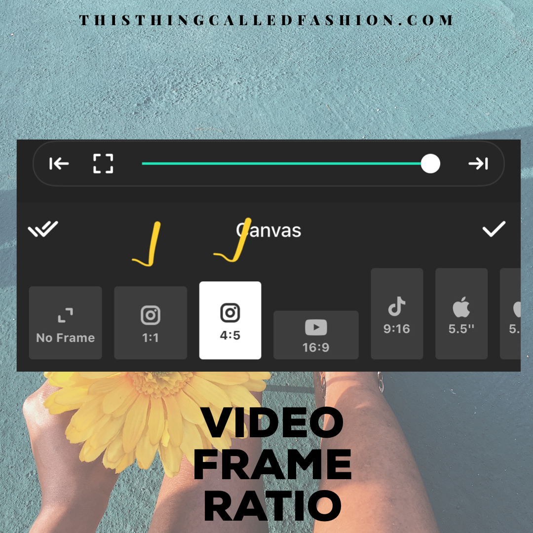 3 THINGS YOU SHOULD KNOW ABOUT POSTING VIDEOS ON INSTAGRAM, Thisthingcalledfashion