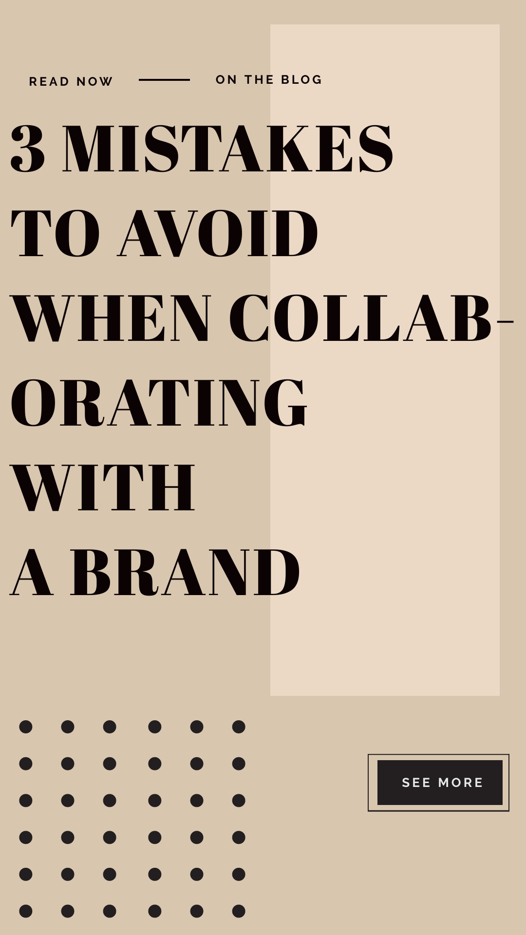 3 MISTAKES TO AVOID WHEN COLLABORATING WITH A BRAND, THISTHINGCALLEDFASHION